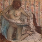 Degas, Edgar - Toilet of a Woman