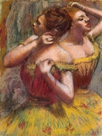 Degas, Edgar - Two Dancers