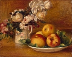 Renoir, Pierre Auguste - Apples and Flowers
