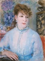Renoir, Pierre Auguste - Portrait of a Woman