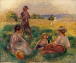 Renoir, Pierre Auguste - Party in the Country at Berneval
