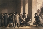 Daumier, Honoré - At the Gare Saint-Lazare