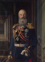 Liphart, Ernest Karlovich - Portrait of Grand Duke Michael Nikolaevich of Russia (1832-1909)