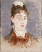 Manet, Édouard - Girl in a Wing Collar