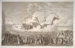 Melnikov, Alexey Kupriyanovich - Opening of the equestrian statue of Peter the Great on Senate Square St. Petersburg in 1782