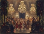 Menzel, Adolph Friedrich, von - Presentation of Rewards to the Participants of the Festival. 1829