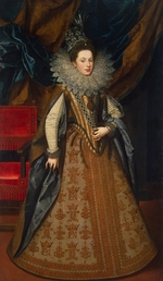 Pourbus, Frans, the Younger - Portrait of Margaret of Savoy (1589-1655), Duchess of Mantua and Montferrat