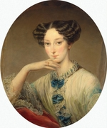 Robertson, Christina - Portrait of Grand Duchess Maria Alexandrovna (1824-1880), future Empress of Russia