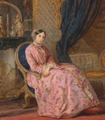 Robertson, Christina - Portrait of Grand Duchess Maria Nikolaevna of Russia, Duchess of Leuchtenberg (1819-1876)