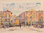 Signac, Paul - City Square