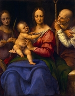 Cesare da Sesto - Holy Family with Saint Catherine