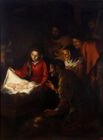 Murillo, Bartolomé Estebàn - The Adoration of the Shepherds