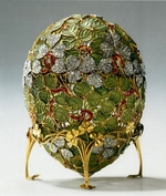 Perkhin, Michail Yevlampievich, (Fabergé manufacture) - The Clover Leaf Egg