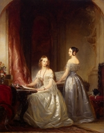 Robertson, Christina - Grand Duchesses Alexandra Nikolaevna of Russia (1825-1844) and Olga Nikolaevna of Russia (1822-1892)