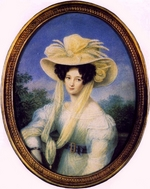 Schoeller, Johann Christian - Eleonore Peterson, née Princess Bothmer, the first Wife of Fyodor Tyutchev
