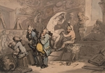 Rowlandson, Thomas - Sculptor Shop