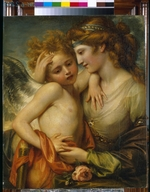 West, Benjamin - Venus Consoling Cupid Stung by a Bee