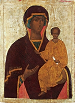 Russian icon - The Virgin Hodegetria of Smolensk