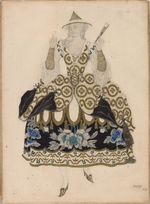 Bakst, Léon - Costume design for the ballet Sleeping Beauty by P. Tchaikovsky