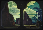 Roerich, Nicholas - Stage design for the opera Tristan and Isolde by R. Wagner