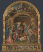 Orioli, Pietro di Francesco - The Nativity with Saints