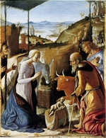 Orioli, Pietro di Francesco - The Nativity