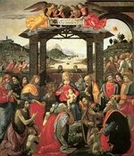 Ghirlandaio, Domenico - The Adoration of the Magi