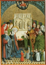 Koerbecke, Johann - The Presentation of Jesus at the Temple