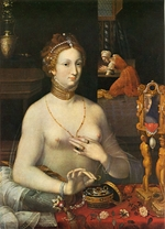 Master of the School of Fontainebleau - Lady at a Toilette
