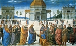 Perugino - Delivery of the Keys to Saint Peter
