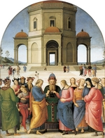 Perugino - The Marriage of Mary and Joseph