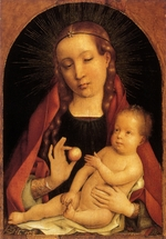 Sittow, Michael - The Virgin and Child