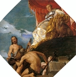 Veronese, Paolo - Venus with Hercules and Neptune