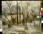 Gauguin, Paul Eugéne Henri - The Snow Garden