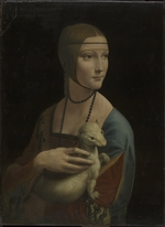 Leonardo da Vinci - Lady with an Ermine (Portrait of Cecilia Gallerani)