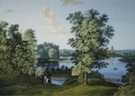 Shchedrin, Semyon Fyodorovich - View of the Large Pond in the Park in Tsarskoye Selo