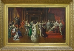 Bakalowicz, Wladyslaw - The Ball at the Court of Henry III of France