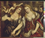 Bordone, Paris - Flora, Venus, Mars and Cupid