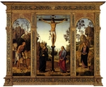 Perugino - The Crucifixion with the Virgin, Saint John, Saint Jerome, and Saint Mary Magdalene