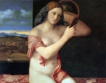 Bellini, Giovanni - Nude Woman with a Mirror