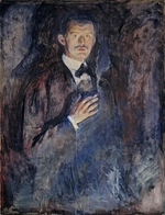 Munch, Edvard - Self Portrait with Cigarette