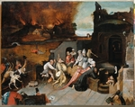 Bosch, Hieronymus, (School) - The Temptation of Saint Anthony