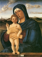 Bellini, Giovanni - Virgin with Standing Blessing Child (Contarini Madonna)