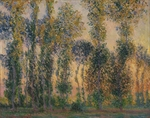 Monet, Claude - Poplars at Giverny, Sunrise