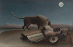 Rousseau, Henri Julien Félix - The Sleeping Gypsy