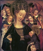 Soest, Conrad (Konrad), von - Madonna and Child with Six Angels