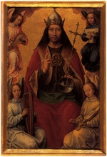 Memling, Hans - Heaven (From the Triptych of Earthly Vanity and Divine Salvation)