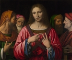 Luini, Bernardino - Christ among the Doctors