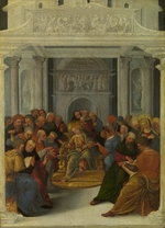 Mazzolino, Ludovico - Christ disputing with the Doctors