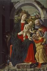 Carrari, Baldassarre, the Younger - The Holy Family with an Angel